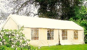 We have our own Marquee available for outdoor functions and wedding catering.